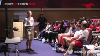Repeat youtube video SMU Football Scholarship Award - Garrett Krstich and Jackson Mitchell
