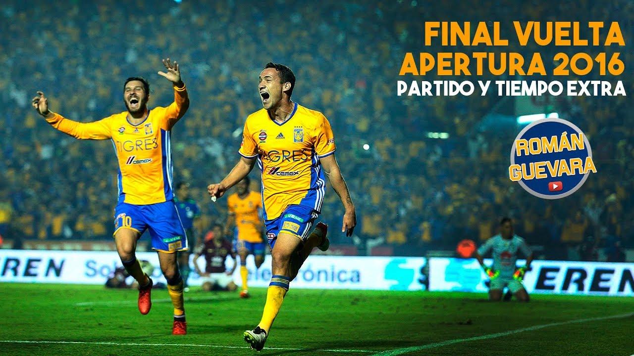La Gran Final Tigres Vs América 1 1 Vuelta Tiempos Extras