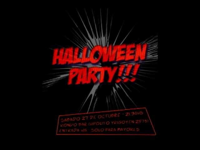 Video Promocion Halloween Party!!! Videos De Viajes