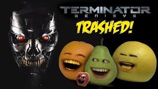 Annoying Orange - TERMINATOR GENISYS TRAILER Trashed!!