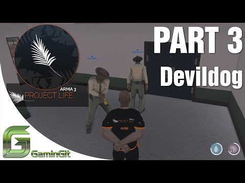 Arma 3: Project Life Mod - DevildogGamer Arrests Me & Found The Pirate Ship - Part 3