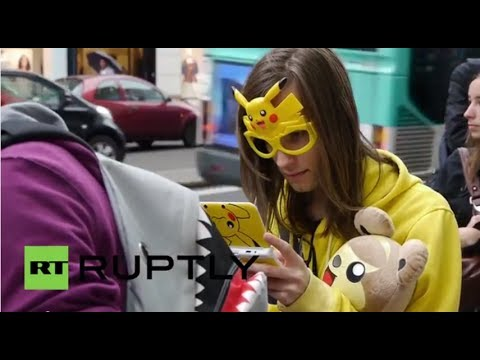 France: Pokemon shop opening drives fans into frenzy