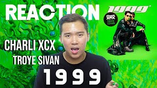 Charli XCX 1999 ft. Troye Sivan Raaction and Review Video