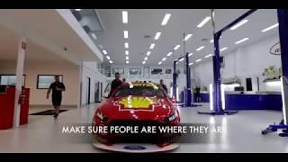 Shell V-Power Racing Team preparing for Bathurst1000