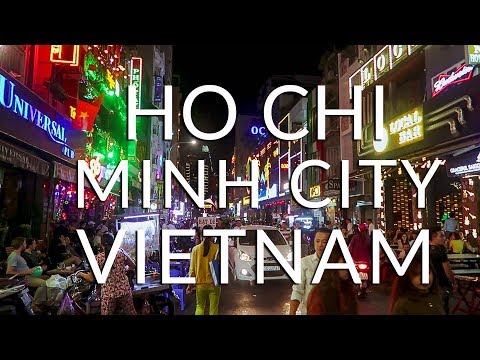Nightlife and Tours in HO CHI MINH CITY   Vietnam Travel Vlog
