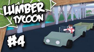 Holz Tycoon 2 #4 - ÜBER DIE BRÜCKE (Roblox Lumber Tycoon)