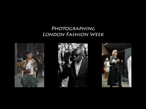 Photographing London Fashion Week SS20 | Andrew Mclean