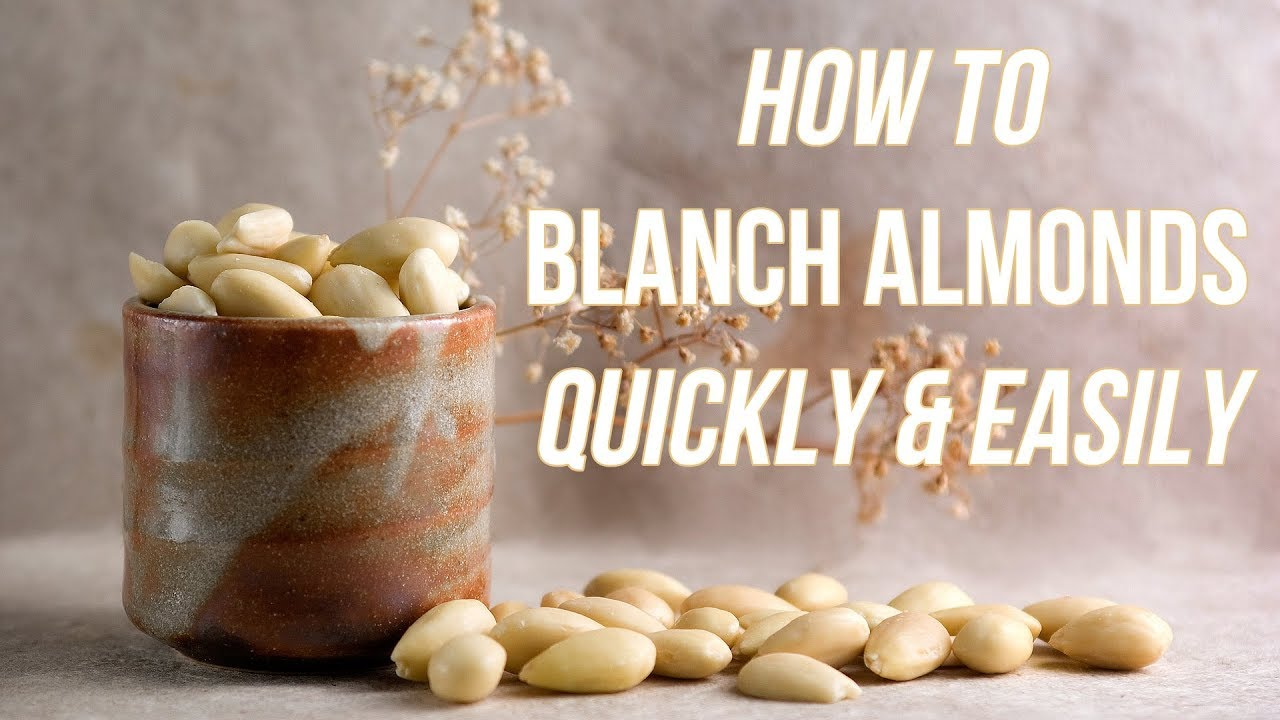 How To Blanch Almonds Quickly - YouTube