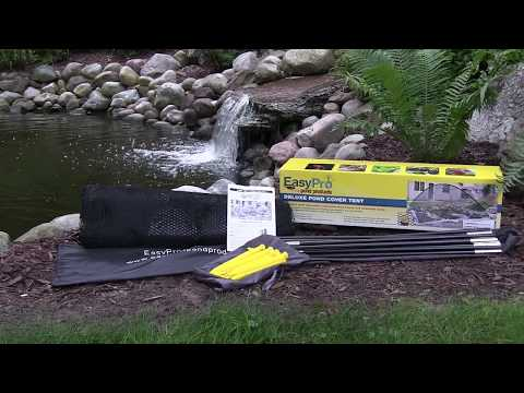 EasyPro Deluxe Pond Cover Tent Assembly...