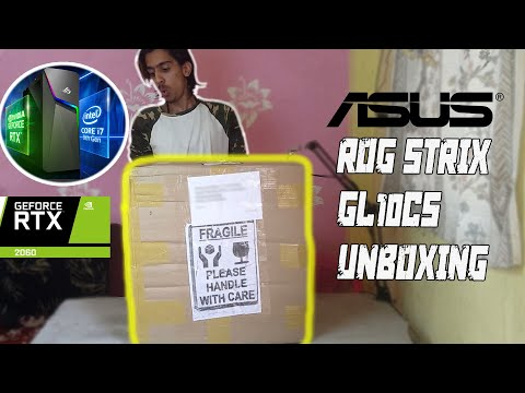 ASUS ROG STRIX GL10CS UNBOXING, RTX2060. BEAST PC FOR GAMING.