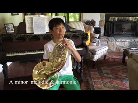 scales & Arpeggios, French horn by Daniel Wu