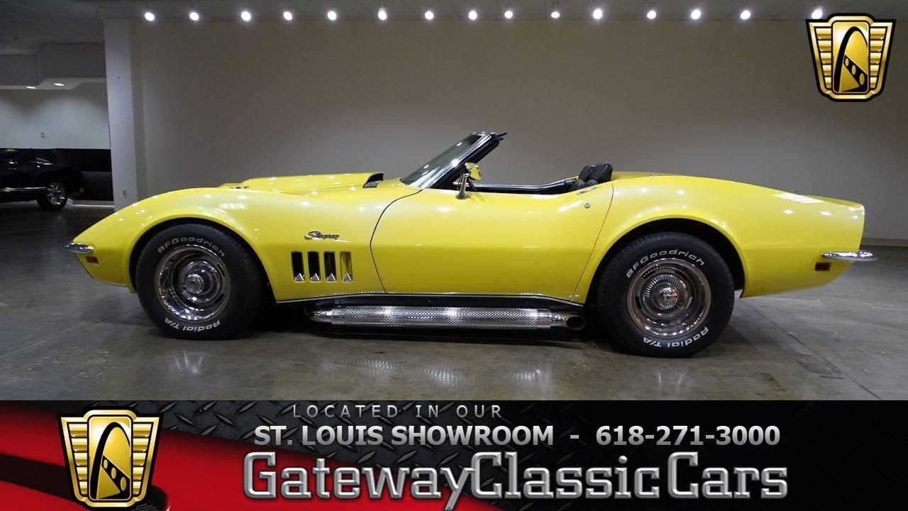 1957 chevrolet corvette for sale on classiccars com 31 - 1969 Chevrolet Corvette Convertible Stock 7515 Gateway Classic Cars St Louis Showroom
