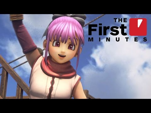 The First 18 Minutes of Dragon Quest Heroes 2 Gameplay
