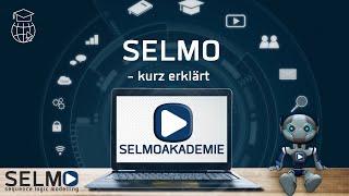 SELMO creates the program - you create the process