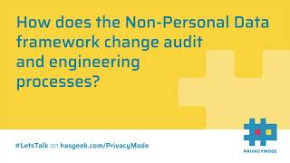 Data auditing process under Non-Personal Data