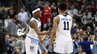 Rhode Island survives overtime to beat Oklahoma in the First Round