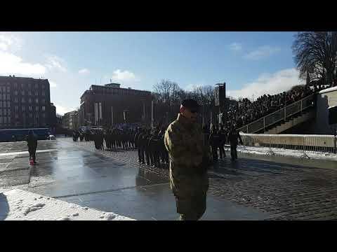 Estonia independence day parade