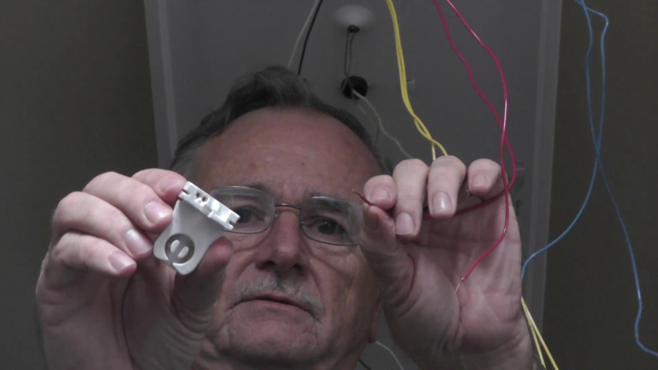 How To Replace A Fluorescent Light Ballast Youtube Lamp Wiring