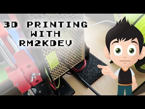 Anti Vibration Pads Good? Bad? - 3D Printing With Rm2kdev #2