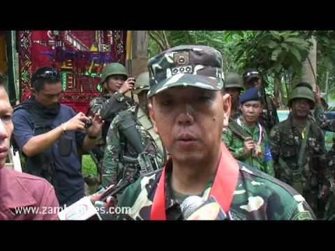 "Zambo Times: Col. Carlito ""Charlie"" Galvez Jr interview in Sumisip, Basilan"