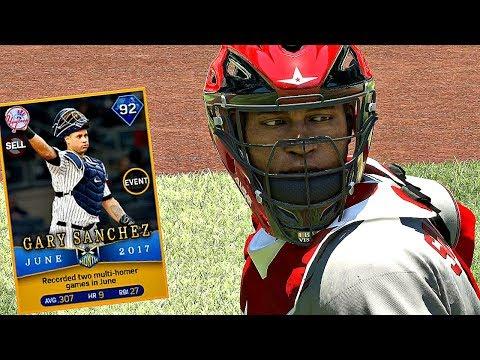 DIAMOND GARY SANCHEZ DEBUT!! MLB The Show 17 Diamond Dynasty
