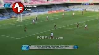 FCB Juvenil A 5 - 0 Damm | FCBMasia.com | AirFutbol.Com