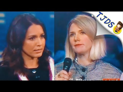 Tulsi Smashes CNN's Pro War Horribleness
