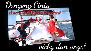 Detik - Detik vicky sengaja menjatuhkan cincin di pantai Ancol | Real atau settingan kah?