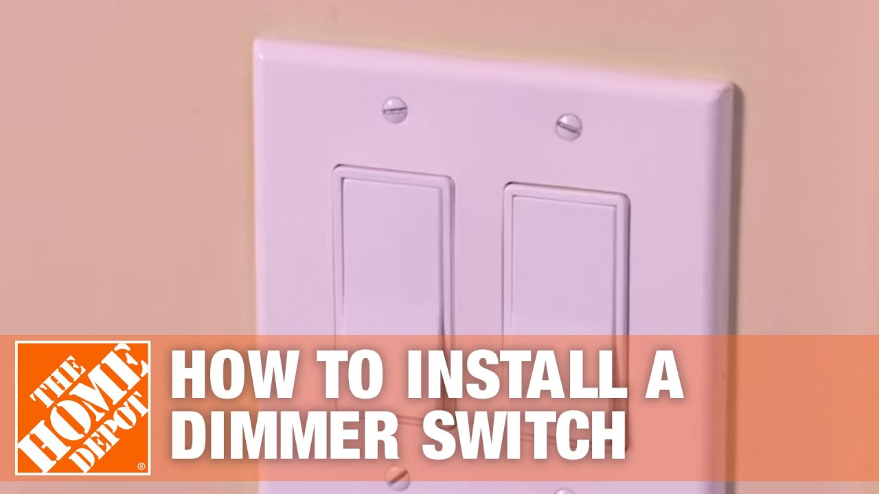 How To Install A Dimmer Switch Single Pole Three Way Light Pull Cord Fixing Wall Mounted And The