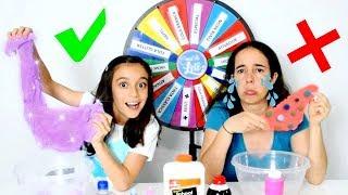 DESAFIO DA ROLETA MISTERIOSA DE SLIME! ★ Brincando com a Mamãe (Mystery Wheel Of Slime Challenge) thumbnail