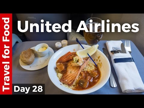 United Airlines Review - Business Class from Lisbon to New York City (and NYC Pizza)