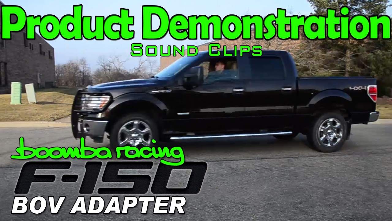 Sound Clips | Boomba BOV Adapter for Ford F150 Ecoboost ...