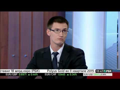 Глеб Задоя на канале РБК