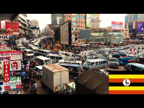 Uganda Kampala city - downtown, streets, daily life, impress