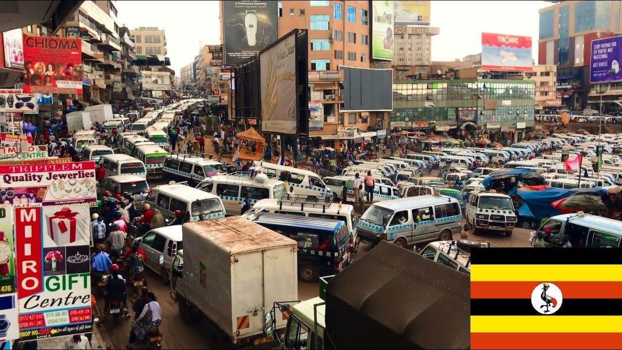 Uganda Kampala city - downtown, streets, daily life, impressions 1
