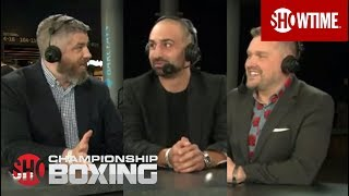 Garcia vs. Redkach: Post Weigh-In Analysis   SHOWTIME CHAMPIONSHIP BOXING