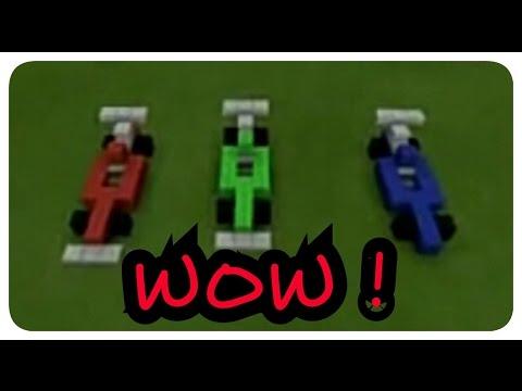 วิธีสร้างรถแข่ง ในเกม Minecraft PE ทุกเวอร์ชั่น!
