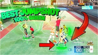 I USED THIS NEW JUMPSHOT ANIMATION ! NOBODY KNOWS BEST JUMPSHOT NBA 2k19 100% Greenlights everytime