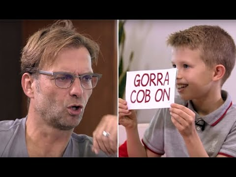 Jürgen Klopp learns scouse