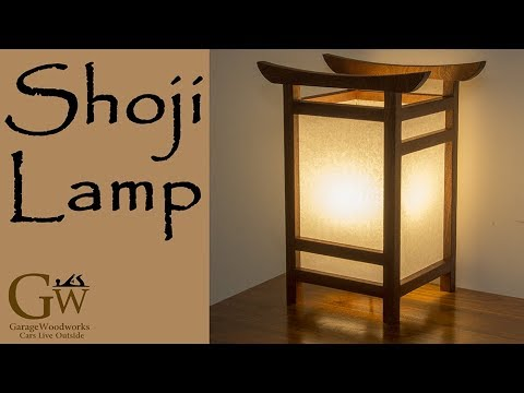 large wood shoji id paper of floor lamp picture