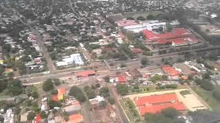 Aterrizaje en el Aeropuerto Internacional Augusto Cesar Sandino   Managua