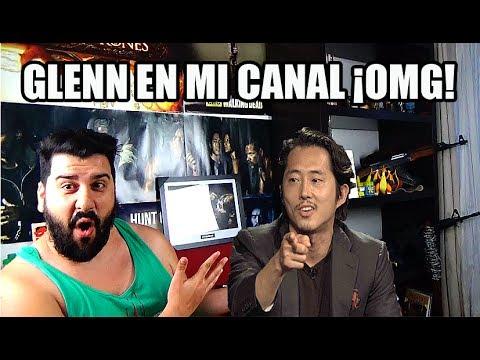 GLENN EN MI CANAL OMG THE WALKING DEAD (EL ACTOR QUE DOBLA EN ESPAÑA)