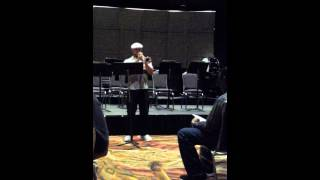 2013 - TMEA All State Jazz Trumpet Etude No. 1