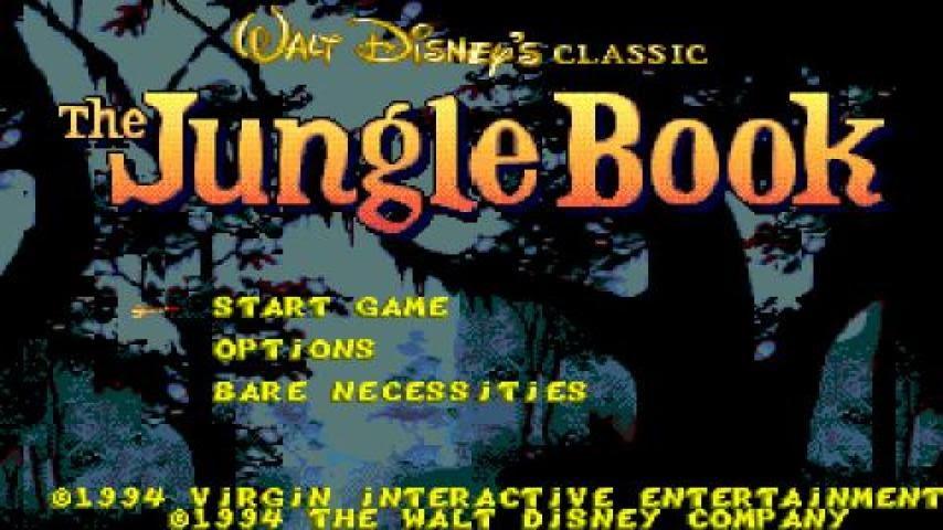 Walt Disneys The Jungle Book Game
