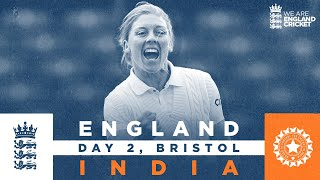England v India - Day 2 Highlights   Dunkley Hits 74* On Debut!   Only LV= Insurance Test 2021