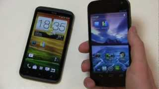 HTC One X vs. Samsung Galaxy Nexus Dogfight Part 1