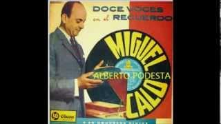 MIGUEL CALÓ  - ALBERTO PODESTA  - EL BAZAR DE LOS JUGUETES  - TANGO
