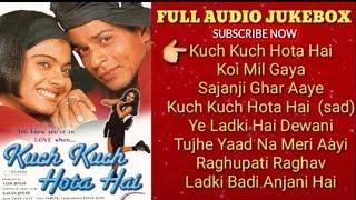 Gambar cover KUCH KUCH HOTA HAI|FULL AUDIO JUKEBOX Shah Rukh Khan||Kajol|SalmanKKumarSanu|AlkaYagnik|UditNarayan|