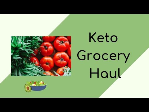 Keto Grocery Haul | What I eat to lose weight on keto