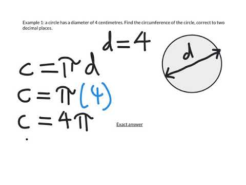 Distances With Circles 1: Finding the Circumference Using a Given Diameter